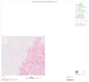 Primary view of object titled '2000 Census County Block Map: Anderson County, Inset C01'.
