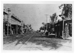 Primary view of object titled '[Fourth and Front Streets]'.