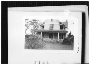 Primary view of object titled '[Sims House]'.