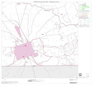 Primary view of object titled '2000 Census County Block Map: Lampasas County, Block 9'.