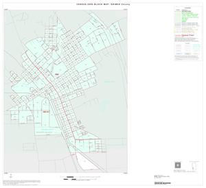 Primary view of object titled '2000 Census County Block Map: Grimes County, Inset C01'.