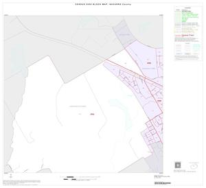 Primary view of object titled '2000 Census County Block Map: Navarro County, Inset D01'.