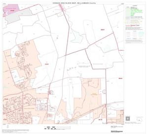 Primary view of object titled '2000 Census County Block Map: Williamson County, Block 52'.