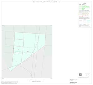 Primary view of object titled '2000 Census County Block Map: Williamson County, Inset D01'.