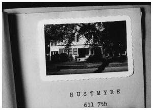 Primary view of object titled '[Hustmyre Home]'.