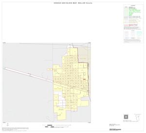 Primary view of object titled '2000 Census County Block Map: Waller County, Inset C01'.