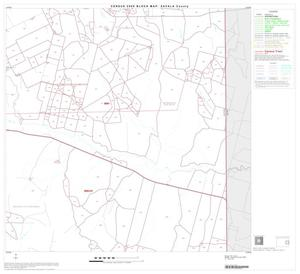Primary view of object titled '2000 Census County Block Map: Zavala County, Block 8'.