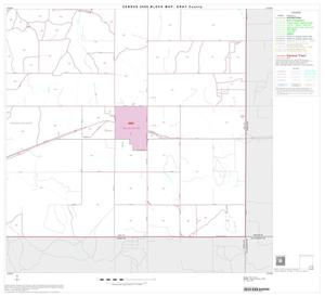 Primary view of object titled '2000 Census County Block Map: Gray County, Block 16'.