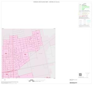 Primary view of object titled '2000 Census County Block Map: Jim Wells County, Inset D02'.