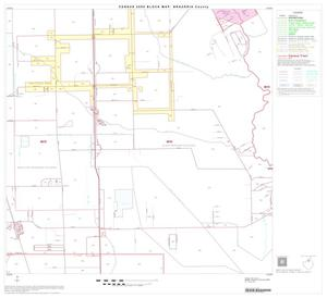Primary view of object titled '2000 Census County Block Map: Brazoria County, Block 10'.
