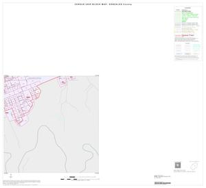 Primary view of object titled '2000 Census County Block Map: Gonzales County, Inset C04'.