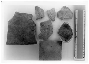 Primary view of object titled '[Atakapan Indian Pottery Shards]'.
