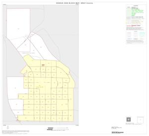 Primary view of object titled '2000 Census County Block Map: Gray County, Inset B01'.