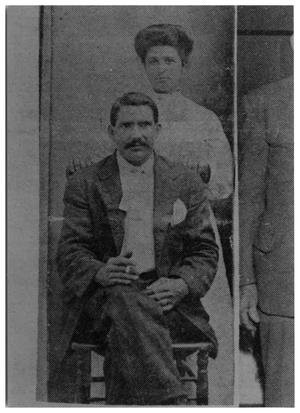 Primary view of object titled '[Mariana Loracana and Wife]'.