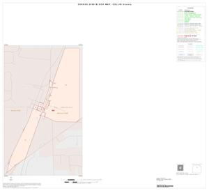 Primary view of object titled '2000 Census County Block Map: Collin County, Inset B01'.