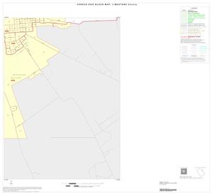 Primary view of object titled '2000 Census County Block Map: Limestone County, Inset B04'.