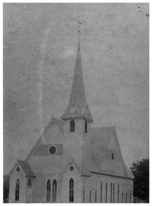 Primary view of object titled '[First Presbyterian Church]'.
