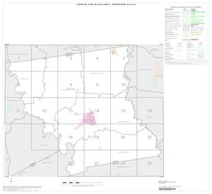 Primary view of object titled '2000 Census County Block Map: Anderson County, Index'.