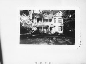 Primary view of object titled '[The Reid Home]'.