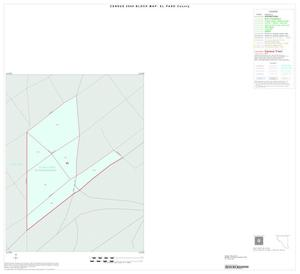 Primary view of object titled '2000 Census County Block Map: El Paso County, Inset B01'.