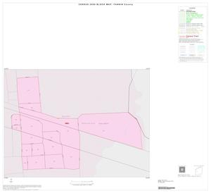 Primary view of object titled '2000 Census County Block Map: Fannin County, Inset E01'.