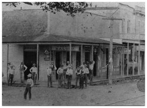 Primary view of object titled '[Crescent City Saloon]'.