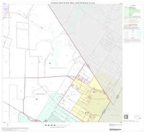Primary view of object titled '2000 Census County Block Map: San Patricio County, Block 17'.