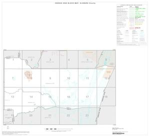 Primary view of object titled '2000 Census County Block Map: Kleberg County, Index'.