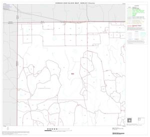 Primary view of object titled '2000 Census County Block Map: Donley County, Block 1'.