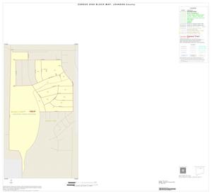 Primary view of object titled '2000 Census County Block Map: Johnson County, Inset B01'.