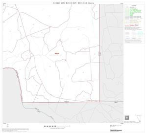 Primary view of object titled '2000 Census County Block Map: Maverick County, Block 22'.