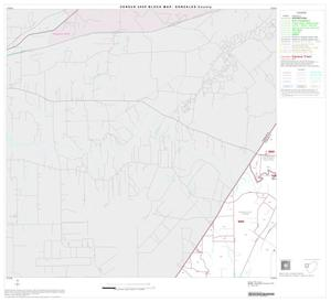 Primary view of object titled '2000 Census County Block Map: Gonzales County, Block 4'.