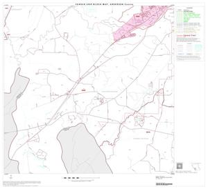Primary view of object titled '2000 Census County Block Map: Anderson County, Block 18'.