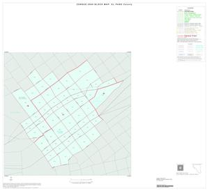 Primary view of object titled '2000 Census County Block Map: El Paso County, Inset D01'.