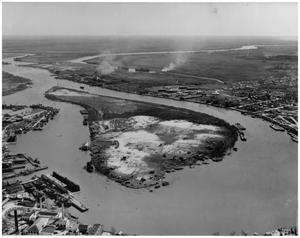 Primary view of object titled '[Photograph of Levingston Island]'.