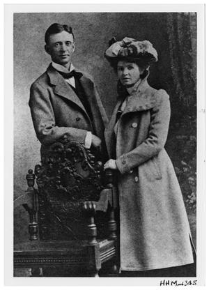 Primary view of object titled '[Joh Wiley Link and Wife]'.