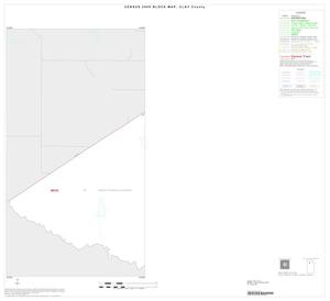 Primary view of object titled '2000 Census County Block Map: Clay County, Inset A01'.