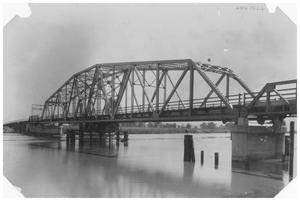 Primary view of object titled '[Bridge to Louisiana]'.