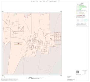 Primary view of object titled '2000 Census County Block Map: San Augustine County, Inset A01'.