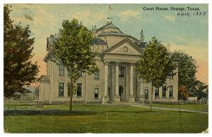 Primary view of object titled '[Court House, Orange, Texas]'.