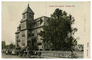 Primary view of object titled '[Orange High School, Orange, Texas]'.