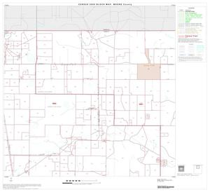 Primary view of object titled '2000 Census County Block Map: Moore County, Block 2'.