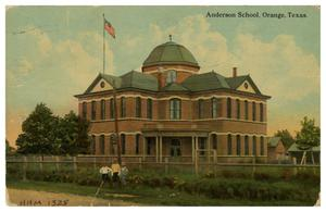 Primary view of object titled '[Anderson School in Orange, Texas]'.