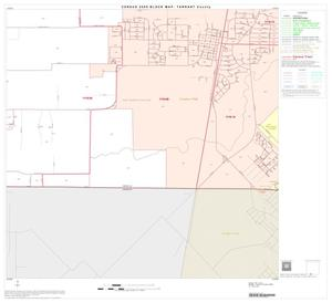 Primary view of object titled '2000 Census County Block Map: Tarrant County, Block 94'.
