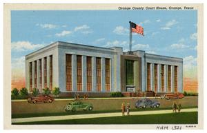 Primary view of object titled 'Orange County Court House'.
