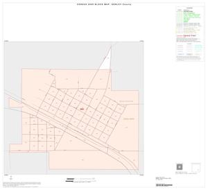 Primary view of object titled '2000 Census County Block Map: Donley County, Inset C01'.
