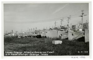 Primary view of object titled '[Texas Group - Atlantic Reserve Fleet]'.