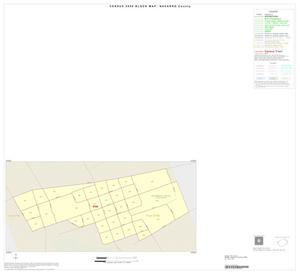 Primary view of object titled '2000 Census County Block Map: Navarro County, Inset F01'.