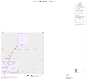 Primary view of object titled '2000 Census County Block Map: Llano County, Inset D02'.