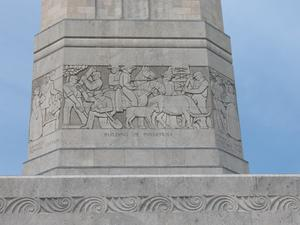 Frieze of San Jacinto Monument, Building of Industries